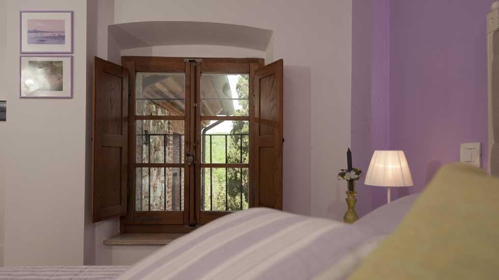 Color Lavanda Per Pareti : Camera glicine è una delle 8 camere del b&b antico granaione